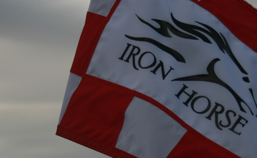 InterTech Collision Centers - Iron Horse Flag